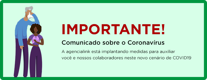Comunicado: agencialink x coronavírus
